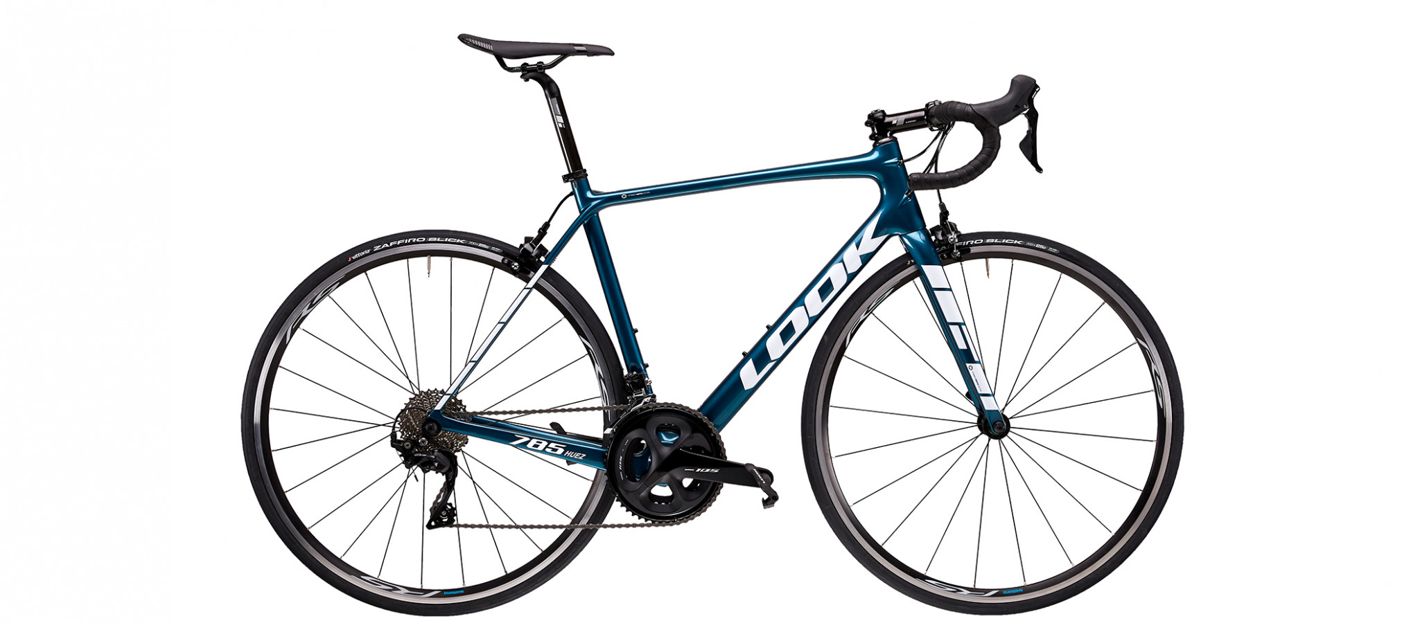 785 HUEZ METALLIC BLUE GLOSSY by Look bikes