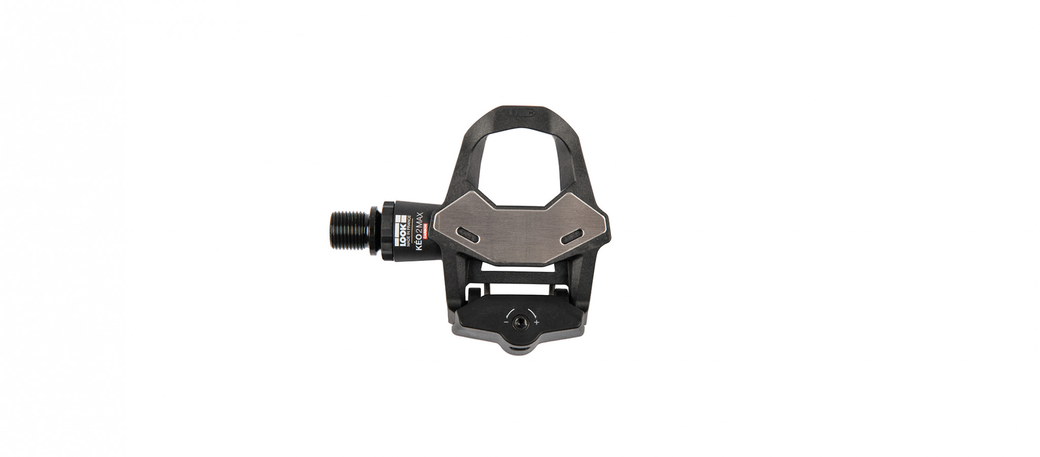 BLACK//WHITE LOOK KEO CLASSIC 3 Road Pedals with Gray Grip Cleats