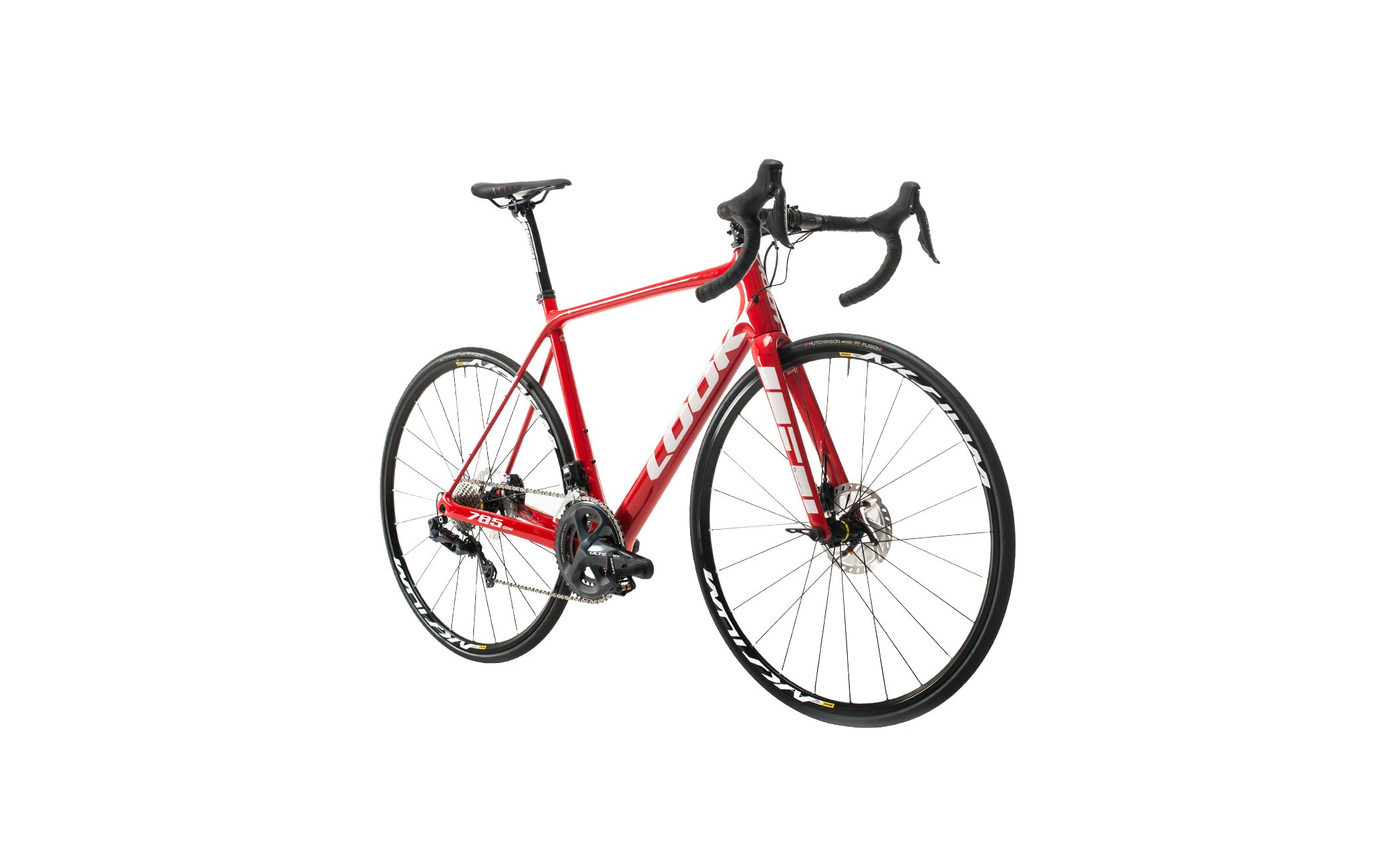 785 HUEZ DISC RED GLOSSY