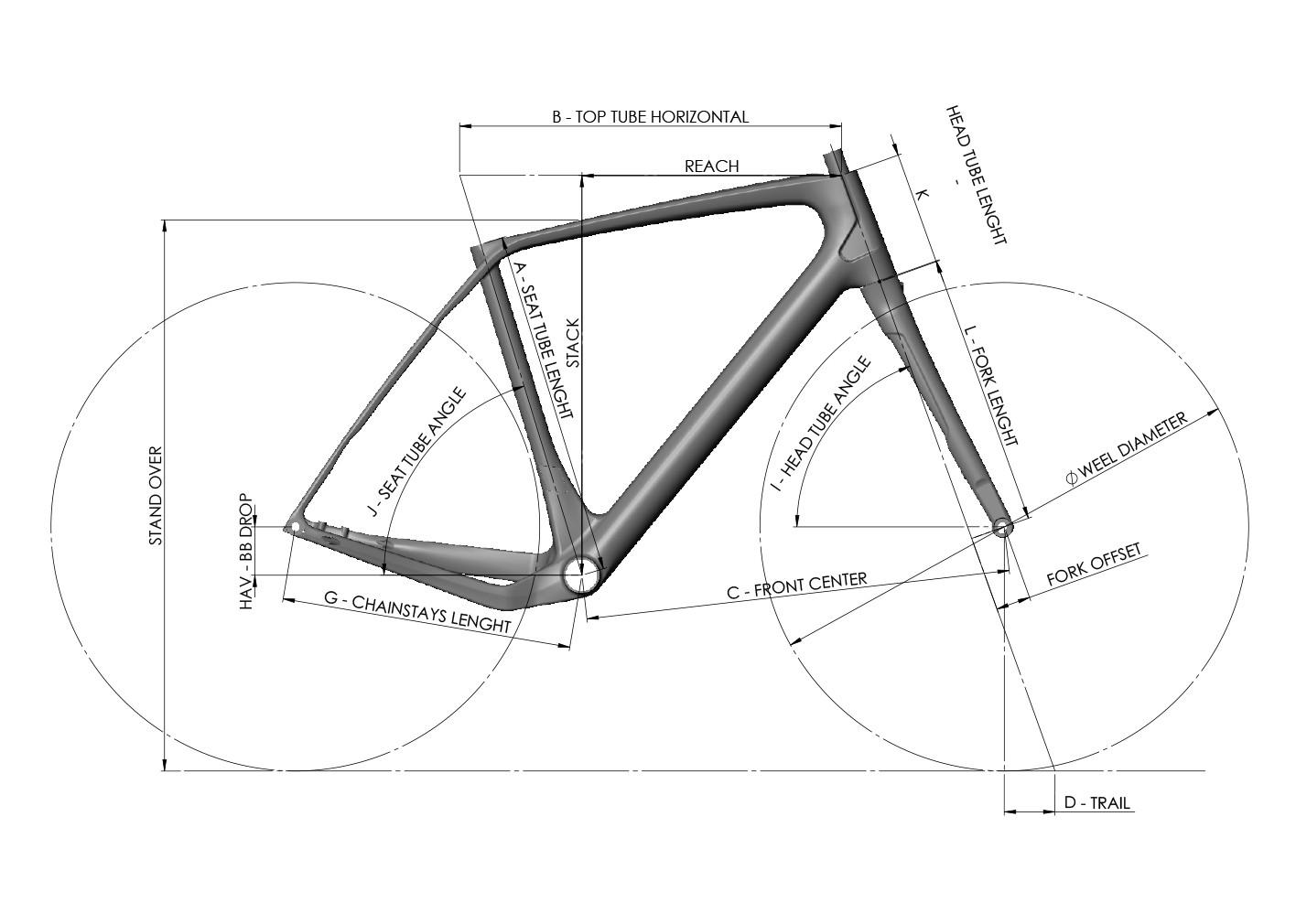 Géométrie 765 OPTIMUM+ FULL BLACK MAT GLOSSY