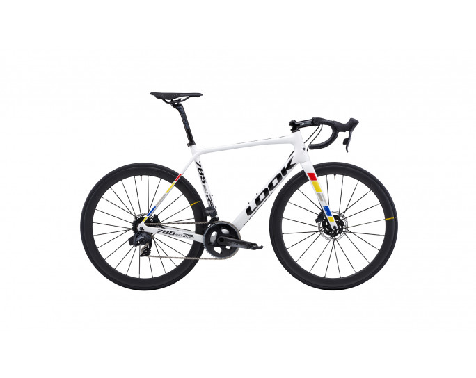 785 HUEZ RS DISC PROTEAM WHITE GLOSSY
